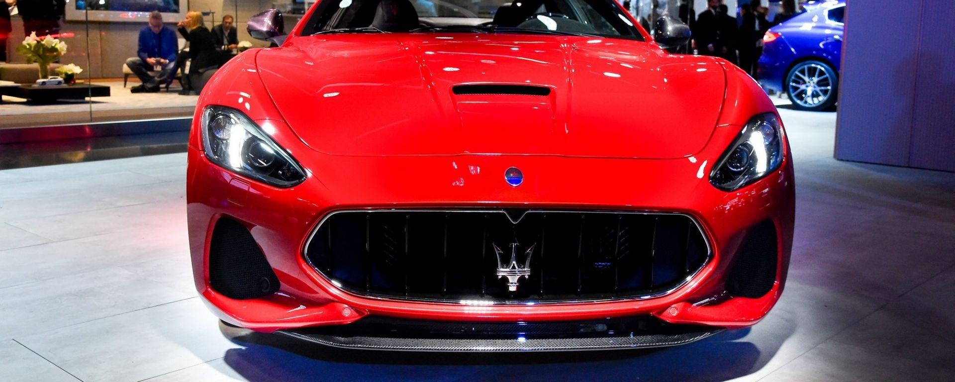 Maserati GranTurismo 2018: il restyling debutta in Europa al Salone di Francoforte 2017