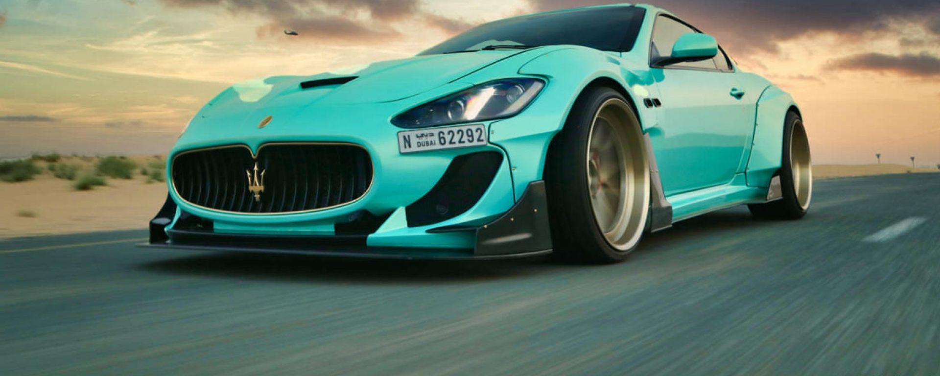 Maserati Granturismo Sport: eccola col kit Antivirus