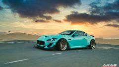 Maserati Granturismo Sport: la carrozzeria è quella della MC Stradale