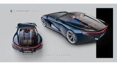 Maserati GranTurismo Targa: il bagagliaio è in vetro. Bello, ma non il massimo per la privacy