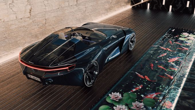 Maserati GranTurismo Targa: il rendering