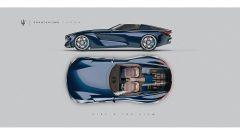 Maserati GranTurismo Targa: interni, l'abitacolo 2 posti dall'alto