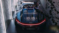 Maserati GranTurismo Targa: vista posteriore dall'alto