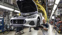 Maserati GranTurismo Zéda sulla linea di produzione