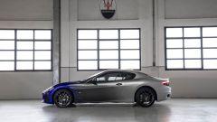Maserati GranTurismo Zéda: visuale laterale