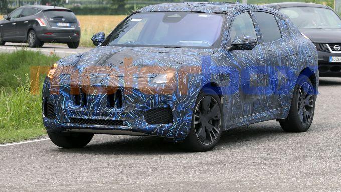 Maserati Grecale: frontale