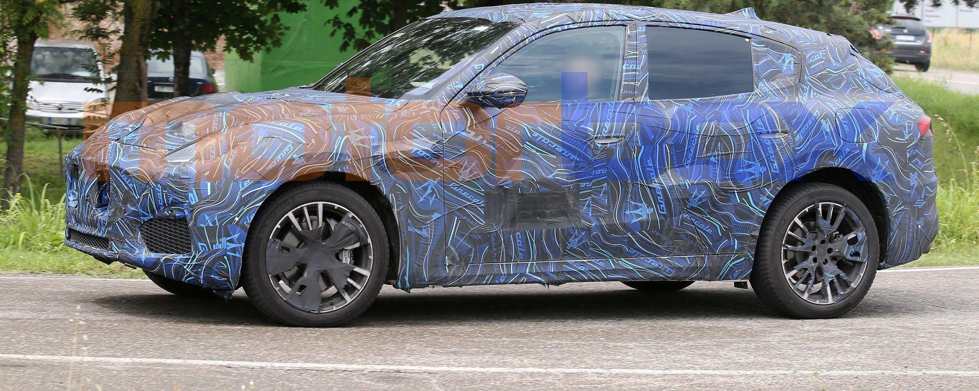 Maserati Grecale: laterale