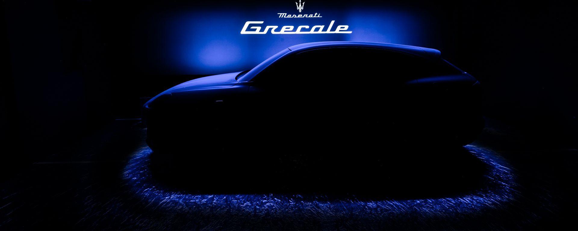 Maserati Grecale, primo teaser