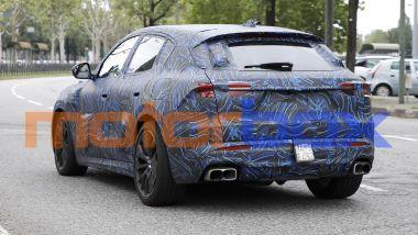 Maserati Grecale Trofeo: visuale posteriore