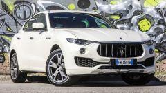 Maserati Levante 3.0 V6 Diesel: il frontale è quello di una sportiva