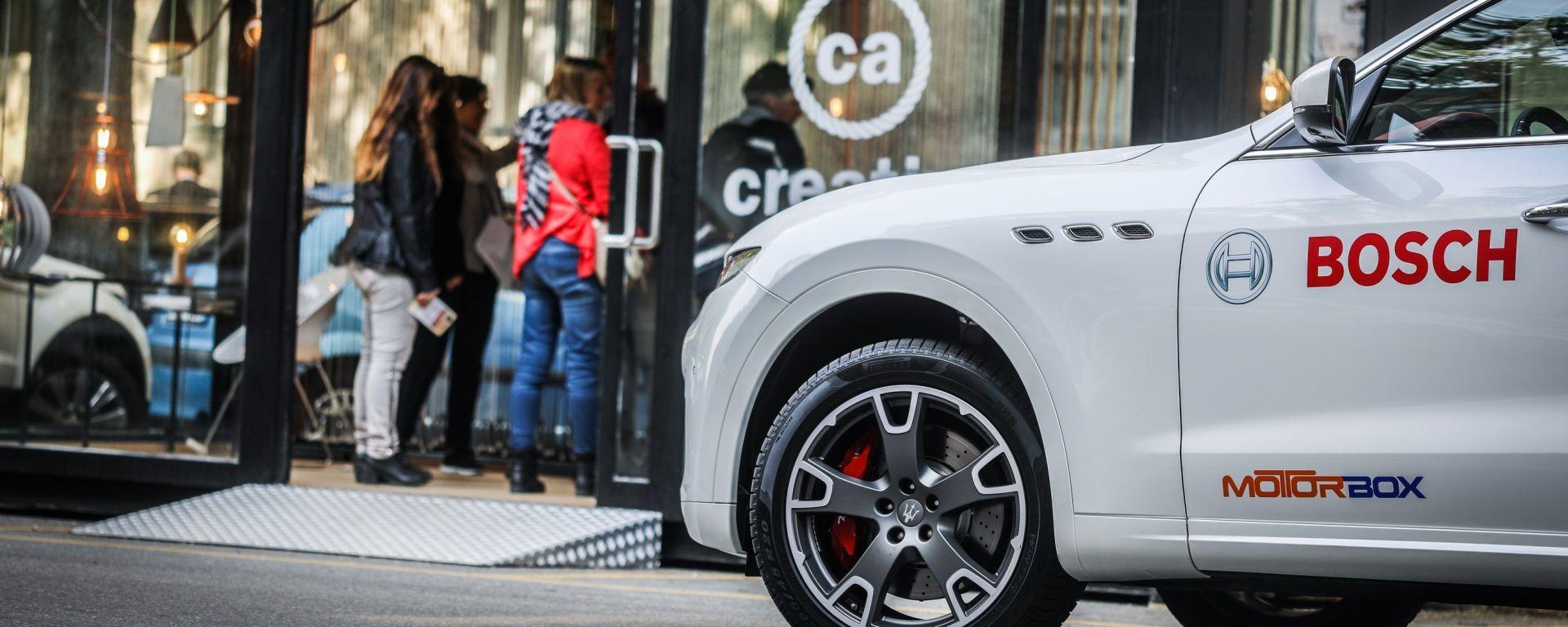 Fuorisalone: a spasso con Bosch e Maserati Levante