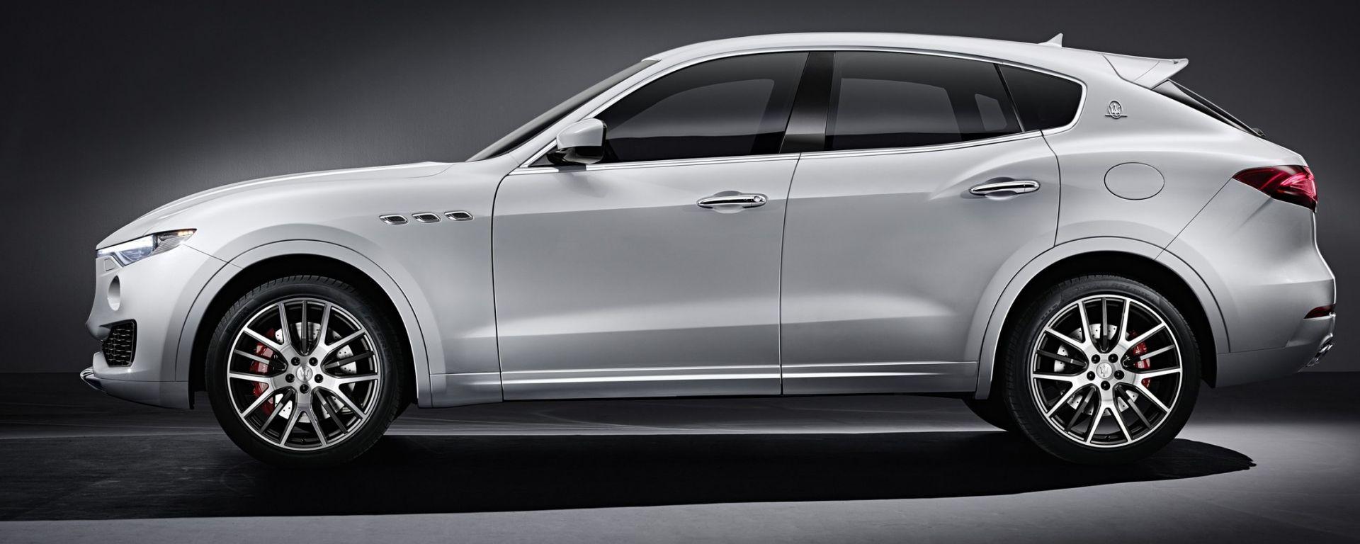 Maserati Levante: le prime foto in rete