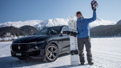 Maserati Levante: nuovo Guinness World Record sul ghiaccio con Jamie Barrow