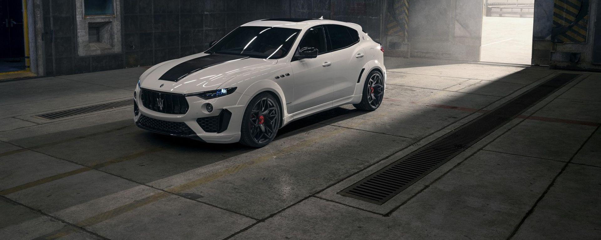 La Maserati Levante Trofeo va in palestra da Novitec