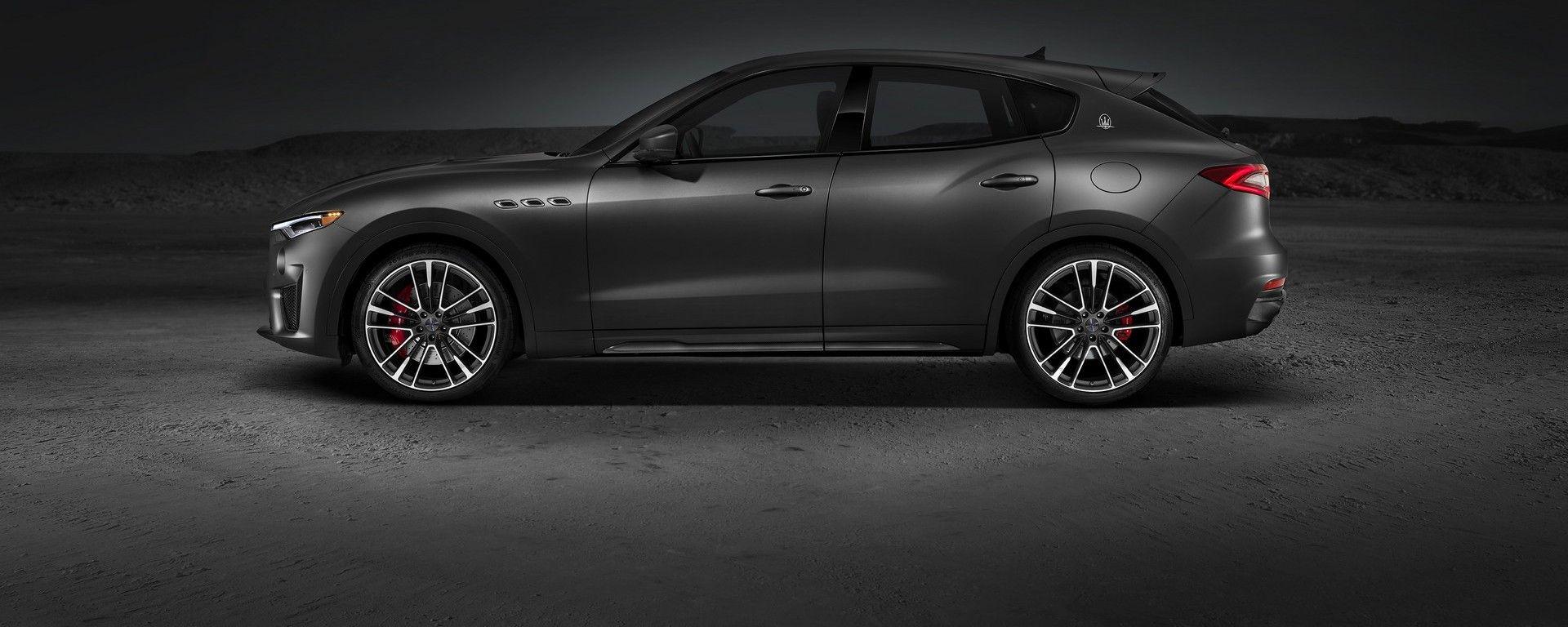 Maserati Levante Trofeo V8: vista laterale