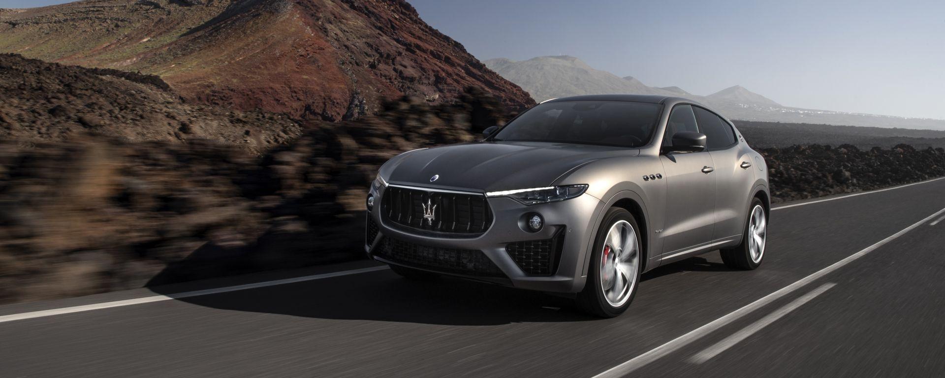 Maserati Levante Vulcano: l'edizione speciale del SUV del Tridente