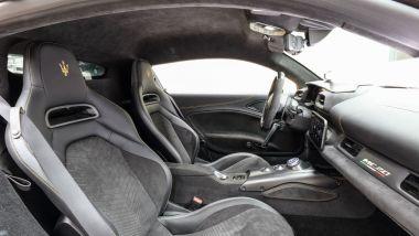 Maserati MC20: abitacolo, gli interni
