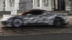 Nuova Maserati MC20, motore V6 biturbo ibrido. Quando esce