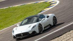 Maserati MC20 in pista
