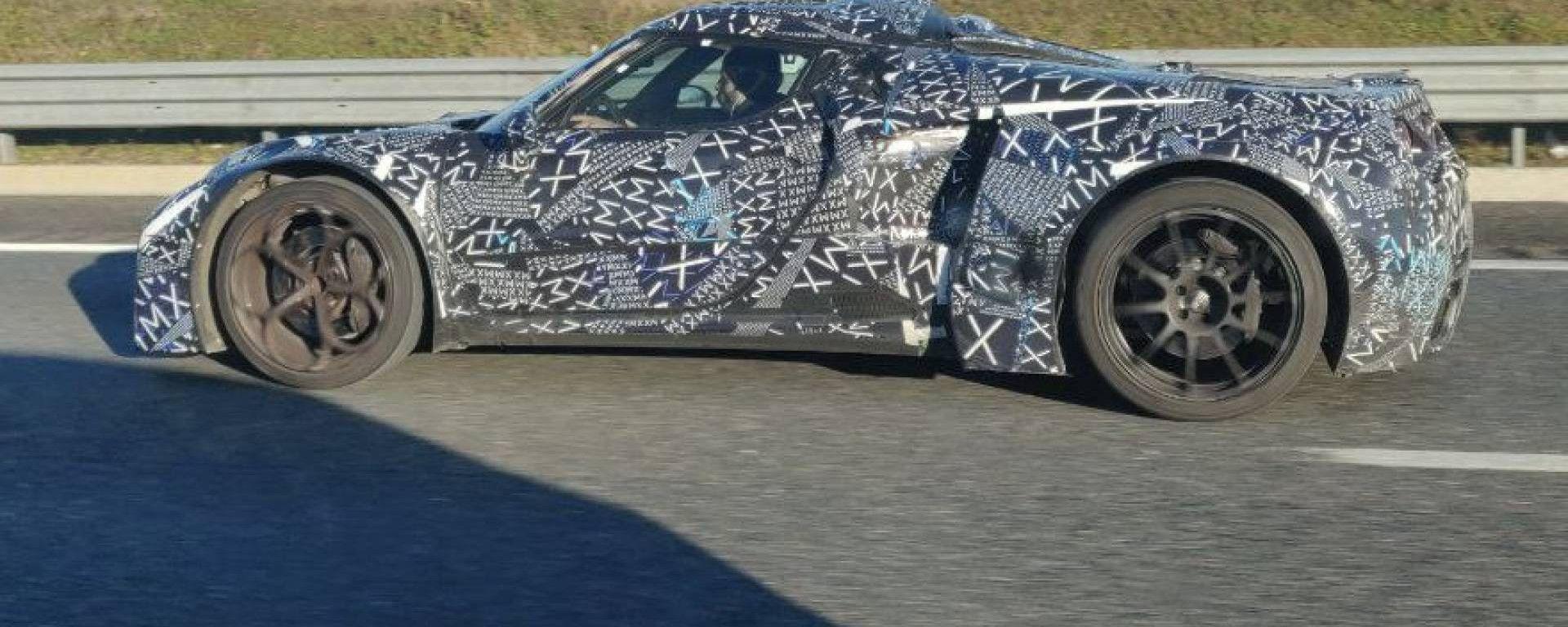 Maserati MC20, la nostra esclusiva foto spia