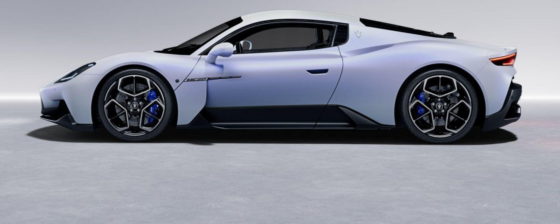 Maserati MC20, online il configuratore