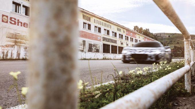 Maserati MC20 sulle strade della Targa Florio