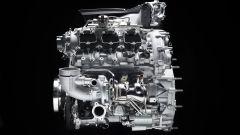 Maserati Nettuno: 3 litri, 6 cilindri a V 90°, biturbo