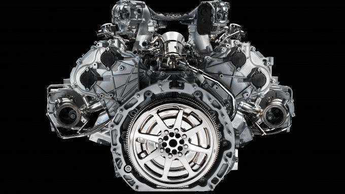 Maserati Nettuno, un V6 3 litri biturbo da 630 cv