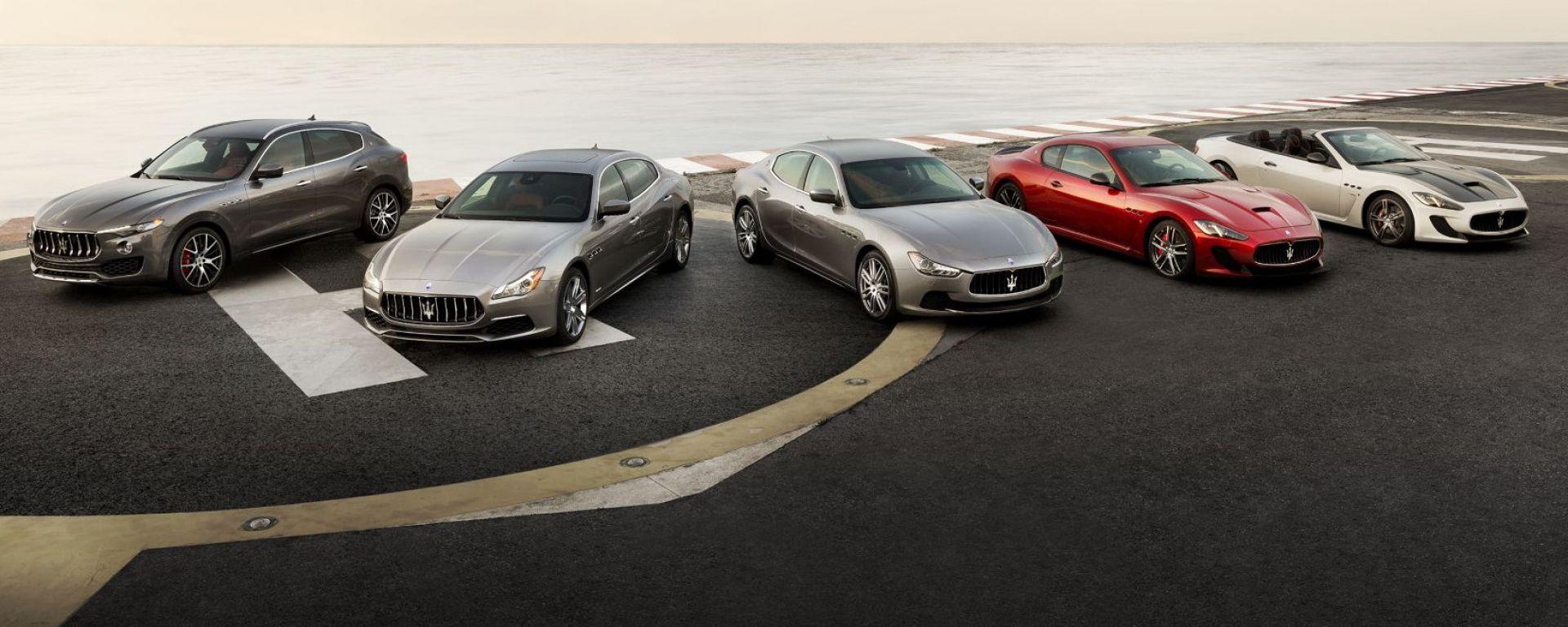 Maserati, per le vendite un anno difficile