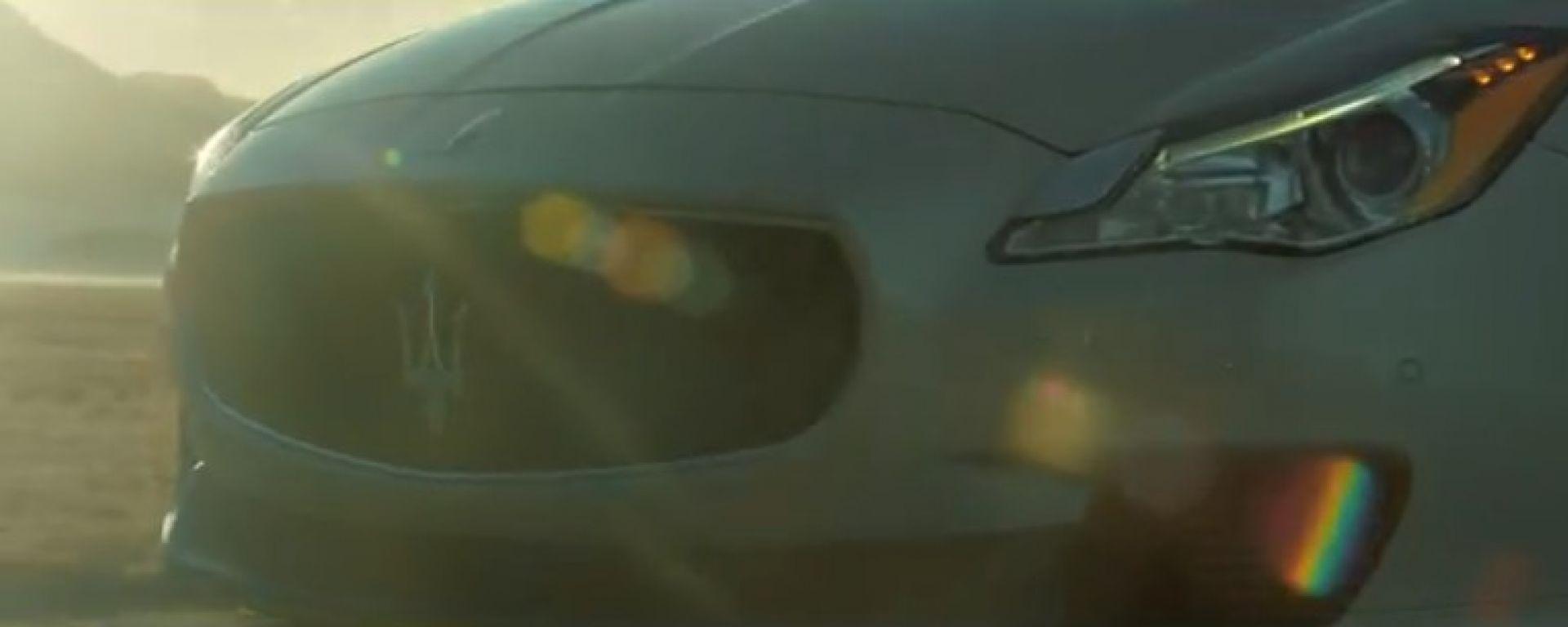 Maserati Quattroporte 2013: nuovo video