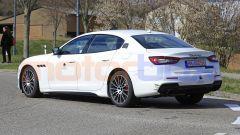 Maserati Quattroporte facelift 2021: 3/4 posteriore