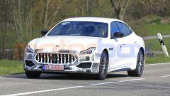 Maserati Quattroporte facelift 2021: frontale
