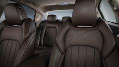 Maserati Quattroporte Gran Lusso: l'abitacolo impreziosito da Ermenegildo Zegna
