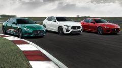 Maserati Ghibili e Quattroporte Trofeo V8: foto, video, scheda
