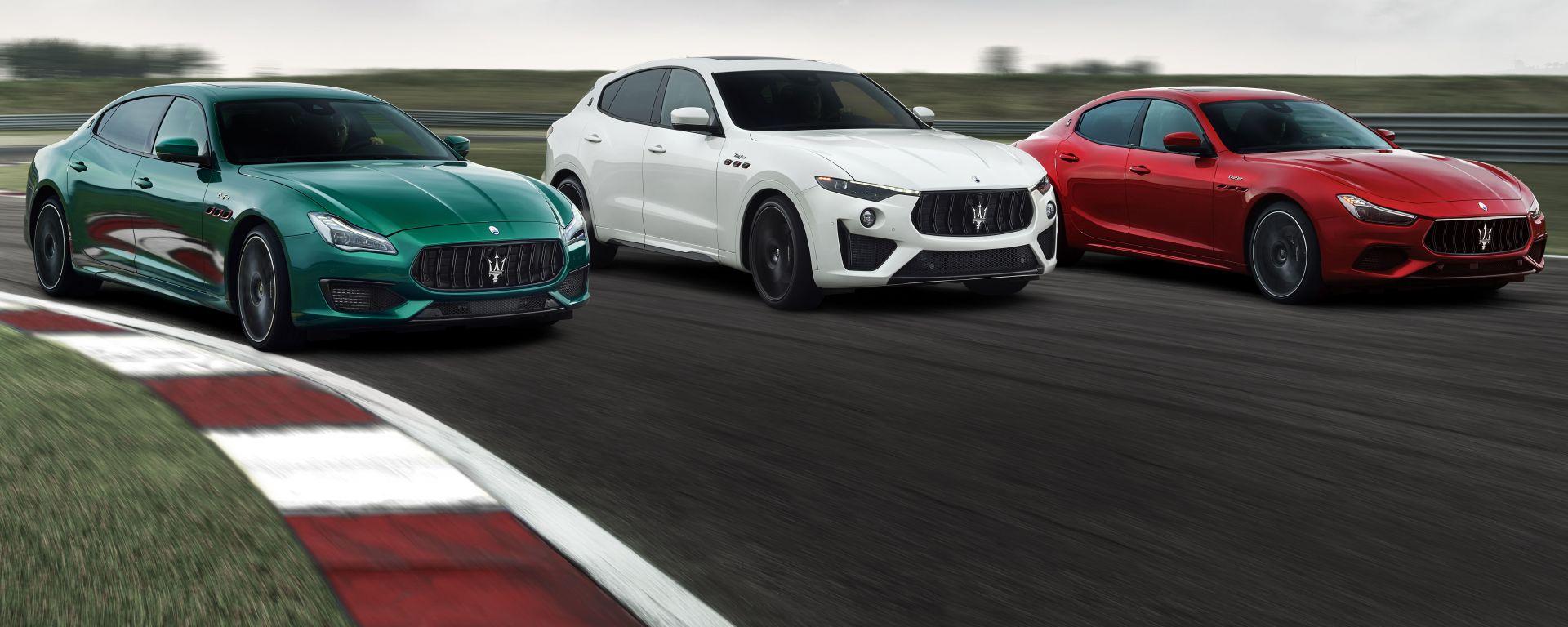 Maserati Quattroporte, Levante e Ghibli Trofeo
