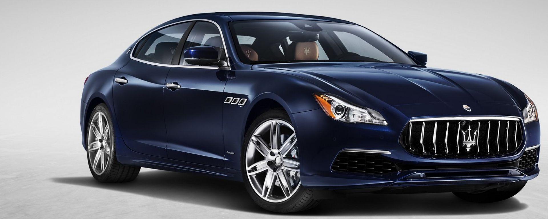 Maserati Quattroporte restyling: con la nuova calandra somiglia alla Levante