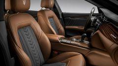 Maserati Quattroporte restyling: gli interni della versione GranLusso