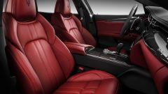 Maserati Quattroporte restyling: gli interni della versione GranSport