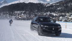 Maserati: una Levante da Record nel traino su ghiaccio - Immagine: 2