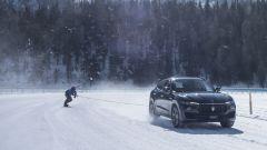 Maserati: una Levante da Record nel traino su ghiaccio - Immagine: 3