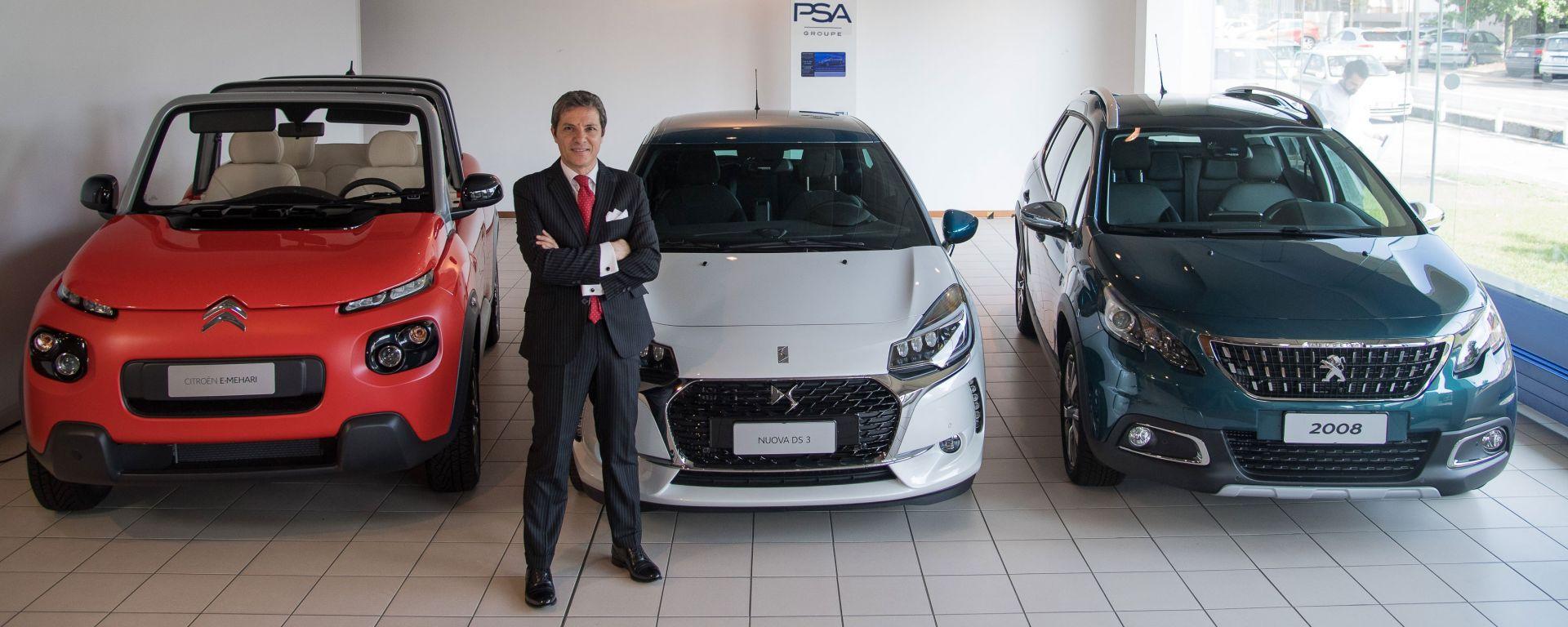 Massimo Roserba, il nuovo direttore generale di Groupe PSA Italia