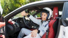 Quando Nadia Toffa girò a Monza su una Jaguar F-Type AWD - Immagine: 21