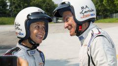Quando Nadia Toffa girò a Monza su una Jaguar F-Type AWD - Immagine: 19