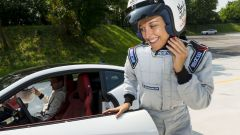 Quando Nadia Toffa girò a Monza su una Jaguar F-Type AWD - Immagine: 20