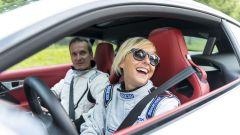 Quando Nadia Toffa girò a Monza su una Jaguar F-Type AWD - Immagine: 22