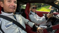 Quando Nadia Toffa girò a Monza su una Jaguar F-Type AWD - Immagine: 24