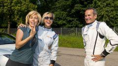 Quando Nadia Toffa girò a Monza su una Jaguar F-Type AWD - Immagine: 25