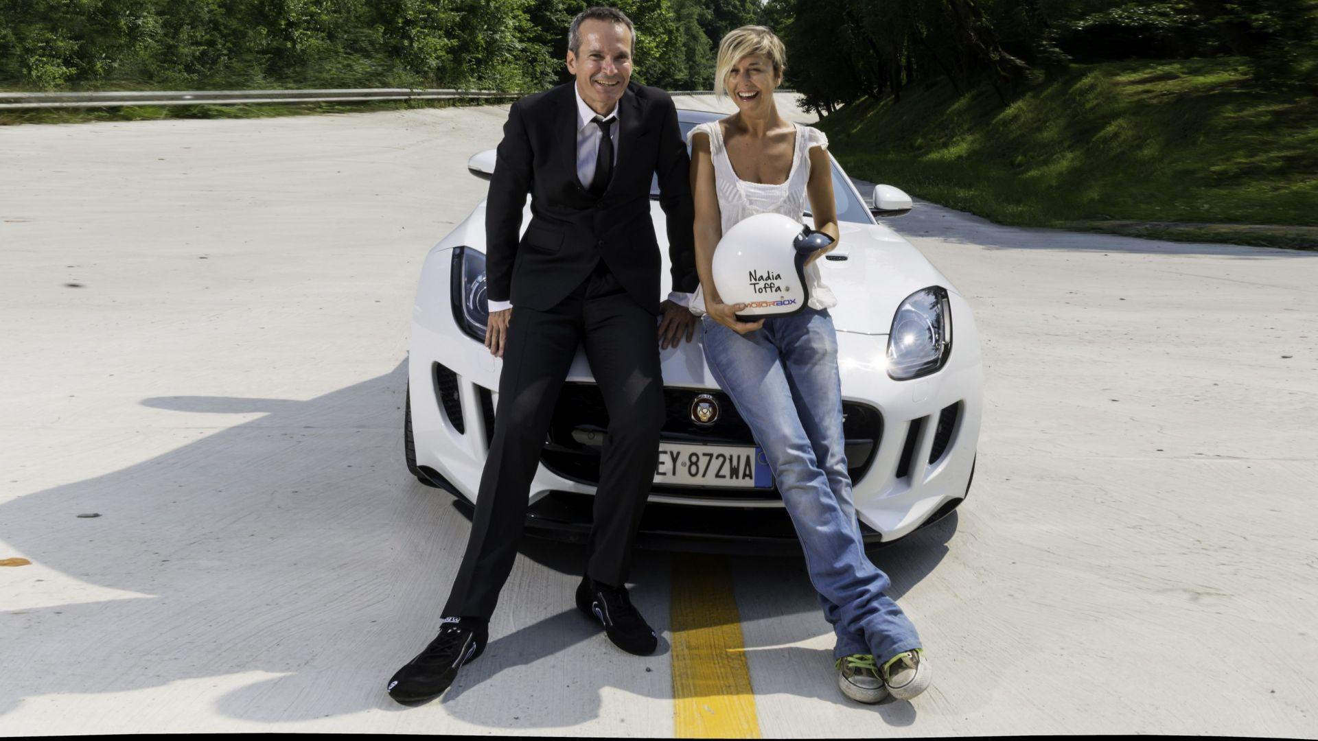 F Type Coupe >> Nadia Toffa: quando girò in pista a Monza con noi. Forza Nadia! [Video] - MotorBox