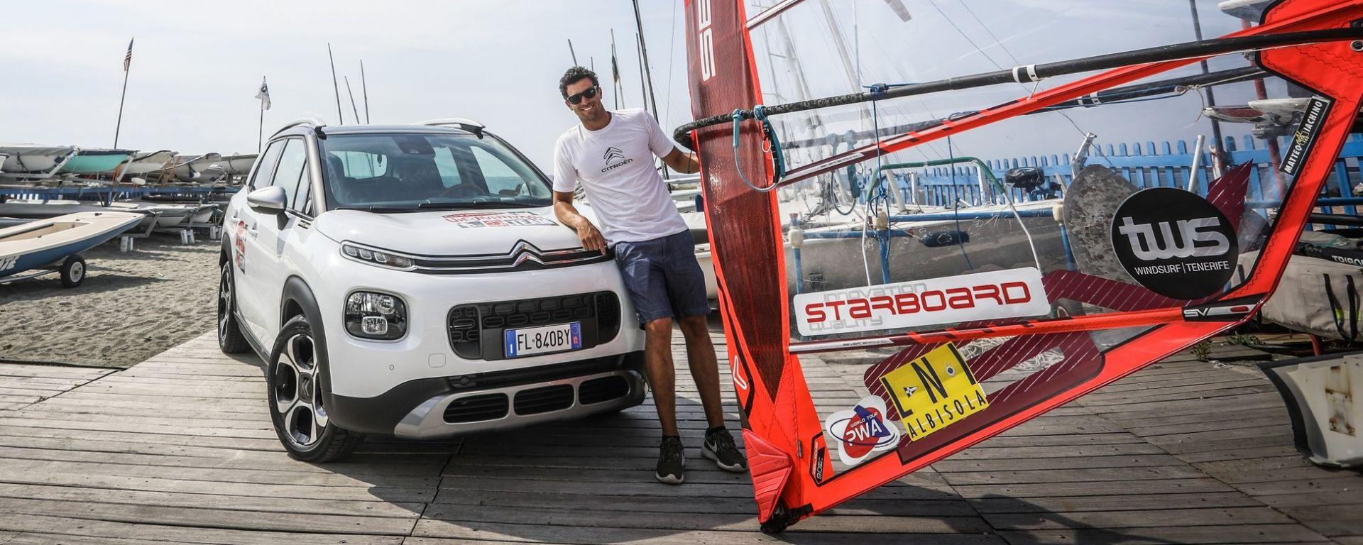 Matteo Iachino e la Citron C3 Aircross alla sfida dell'Unconventional Test