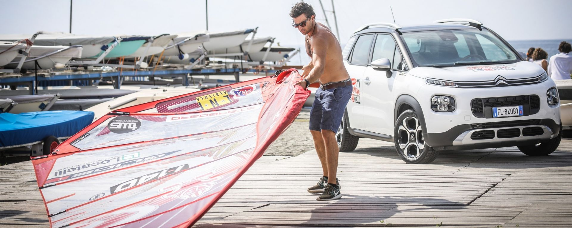 Matteo Iachino: sul windsurf come in MotoGP